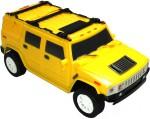 PremK Remote Control Toys PremK 1:28 Scale Small Hummer Racing Car Yellow