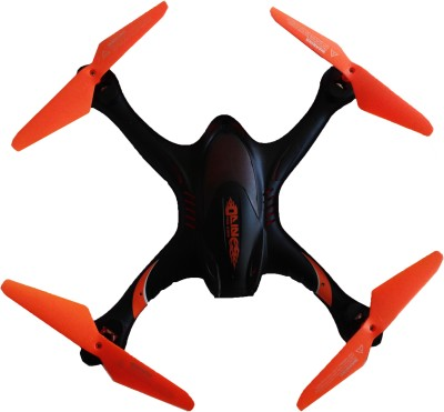 Vaibhav 6 Axis Gyro Quadcopter,2.4G Transmitter,360 Degree Roll-Over A Key Return Headless Mode With HD Camera (Orange) (Orange)