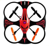 The Flyer's Bay RC 2.4 Ghz Defender Drone (Red)