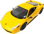 Toy Mall Remote Control Toys Toy Mall Ferrari Model Steering R/c Console Yellow