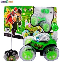 Stealodeal Ben 10 Remote Stunt Car (Green)