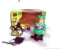 KBNBS Remote Control RC Stunt Car Kids Toy (Green)