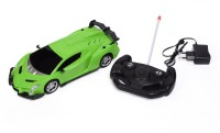 Unica Modern Car 1:16 Remote Control Rechargeable Car (Green)