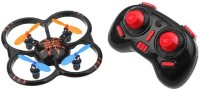 Saffire 6 Axis Gyro 4Ch Intruder UFO Drone With Led Lights (Black)