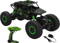 Saffire 2.4Ghz Remote Controlled Rock Crawler, RC Monster Truck 4WD, Off Road Vehicle (Green)