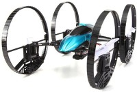 Toys Bhoomi 2 In 1 Airphibian Quadcopter Helicopter Drone - Land Mode And Fright Mode (Blue)