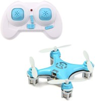 Toys Bhoomi World's Smallest RC Nano Quadcopter 4CH 2.4GHz 6-Axis Gyro LED (Blue)