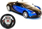 Fantasy India Remote Control Toys Fantasy India Powerful Bugatti Gravity Sensor & Dangling Control Toy Car With Steering