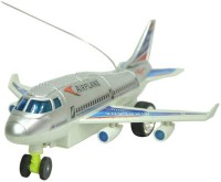 A R Enterprises Remote Aeroplane 2 Channel Radio Control (Running, Not Flying) (Multicolor)