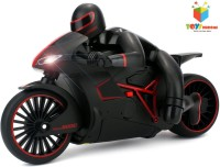 Toys Bhoomi Professional High Speed 2.4 GHz RC Motorcycle Bike With Built In Gyroscope & Bright LED Headlights (Red)