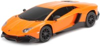 Flipzon RC Lamborghini Aventador LP720-4 1:24 Rechargeable Toy Car (Orange) (Orange)