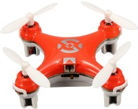 Building Mart World's Smallest RC Nano Quadcopter 4CH 2.4GHz 6-Axis Gyro LED (Orange)