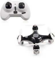 Toys Bhoomi Hot Selling 4CH 2.4GHz RC Quadcopter With Headless Mode - World's Smallest Drone (Black)