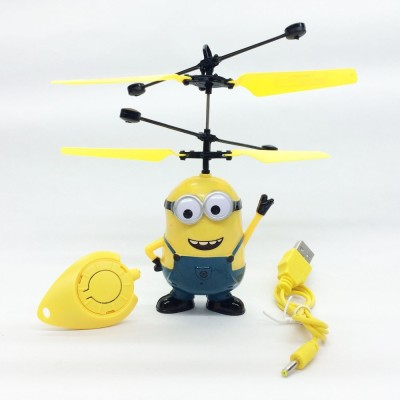 ShopX Remote Control Toys ShopX Minion Helicopter With Infrared Sensor