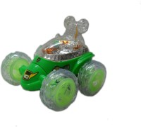 Khareedi Ben 10 Remote Control Stunt Car (Multicolor)
