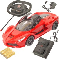 SJ 21.5cm Rechargeable Gravity Induction Control Rc Car Kids Toys (Red)