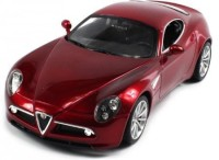 Velocity Toys Officially Licensed Alfa Romeo 8C Competizione Electric Rc (Red)