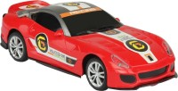 Emob Gravity Sensor RC Racing Furious 4 Suspended Manipulation Car - Red2 (Multicolor)