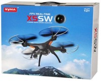 Toyhouse Explorers Drone X5SW With HD CAMERA & WIFI Upgraded 2.4G GYRO 4 CH Quadcopter, Black (Black)