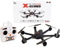 Toys Bhoomi Headless Mode Hexacopter - 2.4G 6 Axis Gyro 3D Roll (Black)