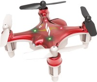Toyhouse Smallest Drone Nano Palm Size Gyro 6-axis RC Quadcopter (Red)