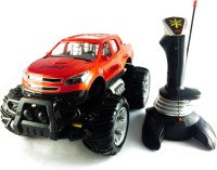 KBnBS Joystick Controlled Off-Road Monster Car Bigfoot SUV (Real High Torque) (Red)