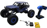 Wishkey Drive Rock Crawler Radio Remote Control R/c Car- Blue (Blue)