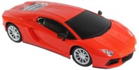 HPD Lamborghini Full Function Rechargeable 1:18 Scale Remote Control Car (Orange)