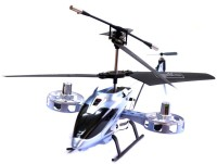 Toys Zone 4 Channel RC Avatar Fighter Helicopter (Grey)