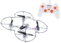 Toys Bhoomi Gravity Sensor RC Quadcopter Professional Drones - 2.4G 6 Axis Gyro One Key 3D Roll (Silver)