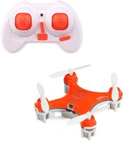Toys Bhoomi New 4-Channel 6 Axis Gyro Mini RC Drone - World's Smallest Quadcopter (Orange)