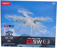 Venus-Planet Of Toys SYMA X5SW 2.4GHZ 4CH 6AXIS QUADCOPTER With Headless Mode & 360 Un-limited Eversion For 12 Years & ABOVE (Multicolor)