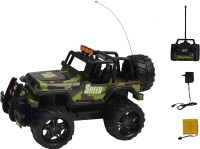 Taaza Garam Kids High Quality Imported RC Drive Off Road Hummer Super Monster Truck Car - Gift Toy (Green)