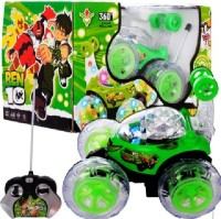 Pasandtoys Ben 10 Stunt Car (Green)