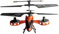 GME 4 Channel RC Avatar Fighter With Built-in Battery Orange (Multicolor)