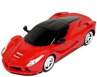 HPD Ferrai LA Full Function Rechargeable 1:24 Scale Remote Control Car (Red)