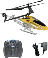 Shopcros Remote Control Rechargeable 2 Channel Helicopter (Yellow)