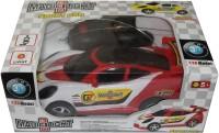 Scrazy 1:26 High Speed Remote Control 3D Light Sport Car (Red)