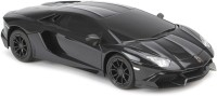 Flipzon RC Lamborghini Aventador LP720-4 1:24 Rechargeable Toy Car (Black)