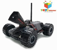 Toys Bhoomi 4CH Wifi RC Video Detective Spy Car W/Camera (Black)
