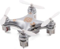 Building Mart World's Smallest RC Quadcopter Drone With Headless Mode (Silver)
