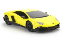 Flipzon RC Lamborghini Aventador LP720-4 1:24 Rechargeable Toy Car (Yellow)