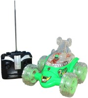 Zaprap Ben 10 Alien Force Stunt Car (Green)