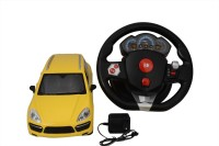 VTC Model Car Remote Control Car (Yellow)