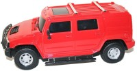 Zest4toyZ Rechargeable 1:24 Hummer H2 SUV RC Car A Perfect Gift To Boys (Red)