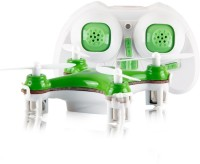 Building Mart World's Smallest RC Nano Quadcopter 4CH 2.4GHz 6-Axis Gyro LED (Green)