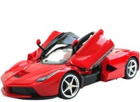 The Flyer's Bay Rechargeable Ferrari Style RC Car With Fully Function Doors (1:18 Scale) (Multicolor)