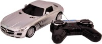 Mera Toy Shop Mercedes-Benz SLS AMG-Silver (Multicolor)