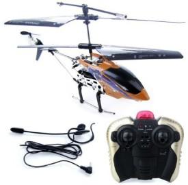 Common Sense RC Rtf Voice Controlled 35Ch Rtf Coaxial Mini Helicopter Orange