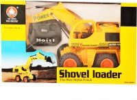 Just Toyz Shovel Loader The New Style Truck (Yellow)